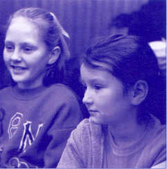 Stacey Nelson and Lowri Palfrey, Cardiff East, 1997