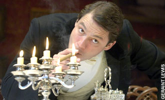 Dominic West as Edward the honest son in Harley Granville-Barker's 'The Voysey Inheritance'