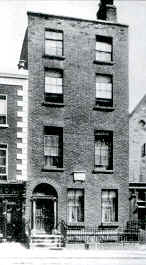O'Casey's birthplace, Upper Dorset Street, Dublin (National Library of Ireland)
