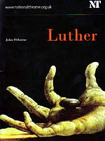 Luther programme cover