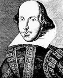 Martin Droeshout portrait of William Shakespeare
