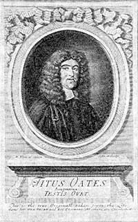 Titus Oates, National Portrait Gallery