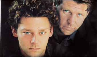 Richard Coyle and Lloyd Owen
