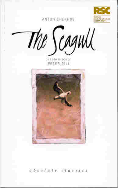 The Seagull book cover.  Image from an original design by RSC Graphics Department